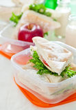 De doos van de lunch stock fotografie