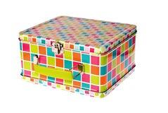 De doos van de lunch Stock Afbeeldingen