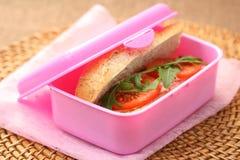 De doos van de lunch Stock Afbeelding