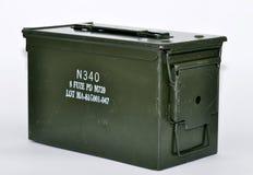 De doos van de munitie Stock Afbeelding