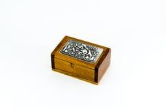 De doos van de olifantsgift, geïsoleerde, Thaise gift Stock Fotografie