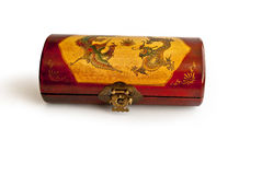 De doos van de opium stock afbeeldingen
