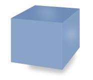 De doos van de opslag royalty-vrije stock afbeeldingen