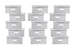 De doos van de opslag Stock Afbeeldingen