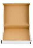 De doos van de pizza Stock Afbeelding