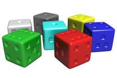 De doos van de regenboog Stock Afbeelding