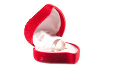 De doos van de ring Royalty-vrije Stock Foto