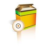De doos van de software Royalty-vrije Stock Afbeelding