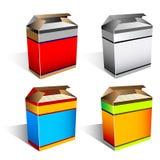 De doos van de software Stock Afbeelding