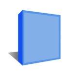 De doos van de software met het knippen van weg. Stock Foto