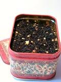 De doos van de thee Stock Afbeelding