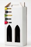 De doos van de wijngift Royalty-vrije Stock Foto's