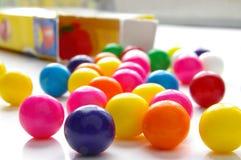 De doos van Gumball Stock Fotografie