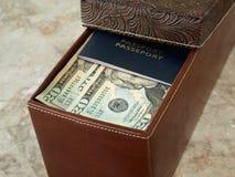 De Doos van het contante geld Royalty-vrije Stock Afbeelding