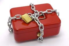 De doos van het contante geld Royalty-vrije Stock Foto's