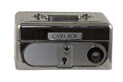 De doos van het contante geld Royalty-vrije Stock Afbeeldingen