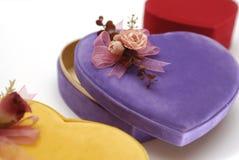 De doos van het fluweel Royalty-vrije Stock Afbeelding