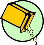 De doos van het graangewas Stock Fotografie