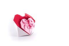 De doos van het hart Stock Foto