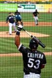 De Doos van het honkbalbeslag Stock Afbeelding