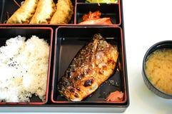 De doos van het Japaneasevoedsel Stock Afbeeldingen