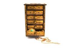 De doos van het juweel royalty-vrije stock afbeeldingen
