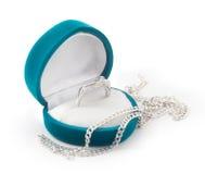 De doos van het juweel met ring Royalty-vrije Stock Fotografie
