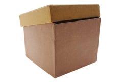 De doos van het karton Stock Foto's