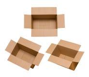 De doos van het karton Royalty-vrije Stock Foto