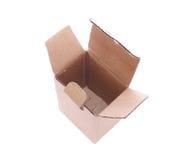 De doos van het karton stock afbeelding