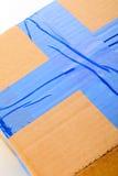 De doos van het karton stock fotografie