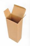 De doos van het karton Royalty-vrije Stock Afbeeldingen