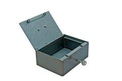 De doos van het metaal stock afbeeldingen
