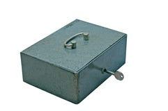 De doos van het metaal royalty-vrije stock afbeeldingen
