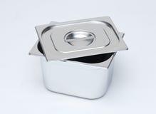 De doos van het metaal Stock Fotografie