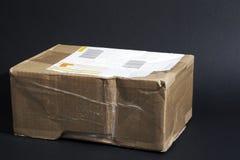 De doos van het pakket Stock Afbeelding
