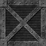 De Doos van het staal stock illustratie