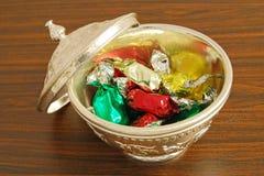 De doos van het suikergoed Stock Fotografie