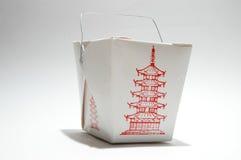 De doos van het voedsel Stock Afbeelding