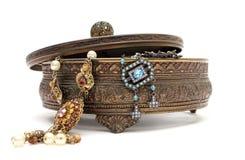 De doos van Jewelery Stock Afbeelding