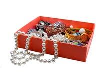 De doos van juwelen royalty-vrije stock foto's