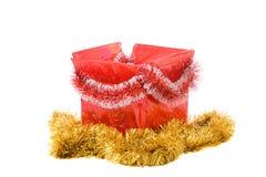De doos van Kerstmis Stock Afbeeldingen