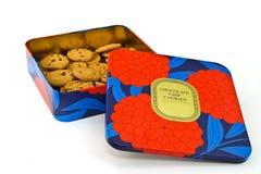 De doos van koekjes Stock Fotografie