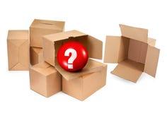 De doos van pandora `s Stock Fotografie