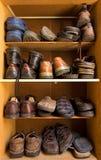 De doos van schoenen Royalty-vrije Stock Afbeeldingen