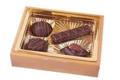 De doos van snoepjes Stock Fotografie