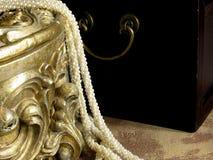 De doosbinnenland van juwelen Royalty-vrije Stock Foto's