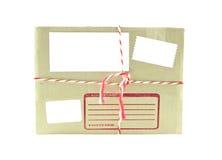 De doospost van het karton royalty-vrije stock foto's