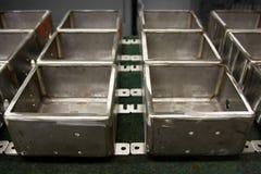 De doosproducten van het roestvrij staal Royalty-vrije Stock Afbeeldingen