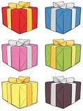 De doosreeks van de gift Royalty-vrije Stock Fotografie